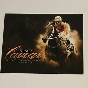 BLACK-CAVIAR-The-Greatest-Sprinter-in-the-World-Souvenir-Stamp-Pack-NEW