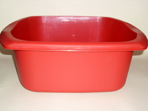 NEUF Addis rouge ovale en plastique Vaisselle Bol 38 cm 15 in environ 38.10 cm