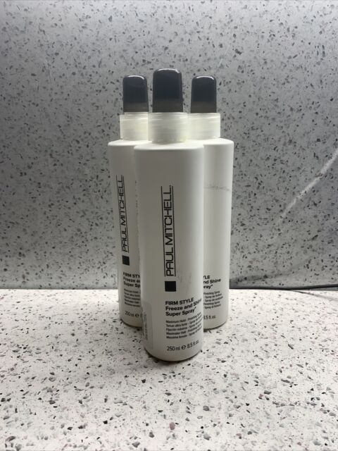 3x Paul Mitchell Firm Style Freeze and Shine Super Spray 8.5oz