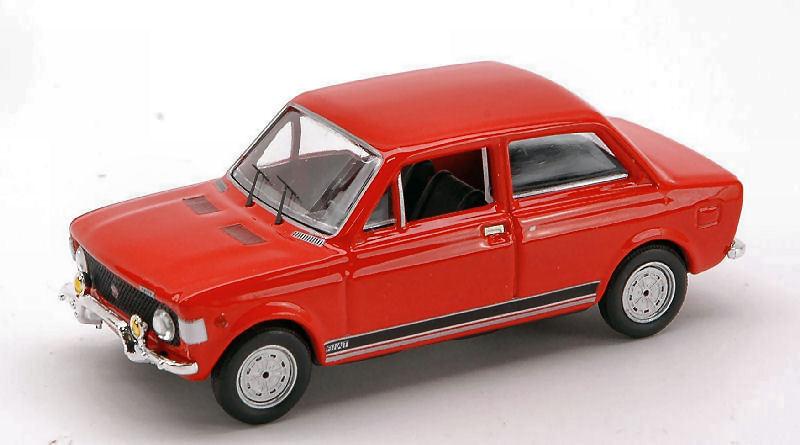 Fiat 128 Rally Rally Rally 1971 rouge 1 43 Model RIO4219 RIO ec9f0f