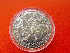 * Österreich 5 Euro Silber 2004 *100 Jahre Fußball.