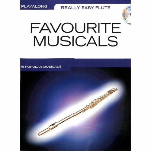 Musiknoten Flöte Noten Favourite Musicals Really Easy Flute