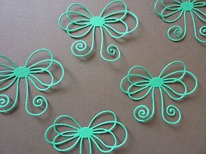 5-x-Christmas-Bows-Die-Cuts-Card-making-Scrapbooking-Embellishments