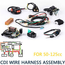 cdi wire harness stator assembly wiring fit atv electric quad 70 90