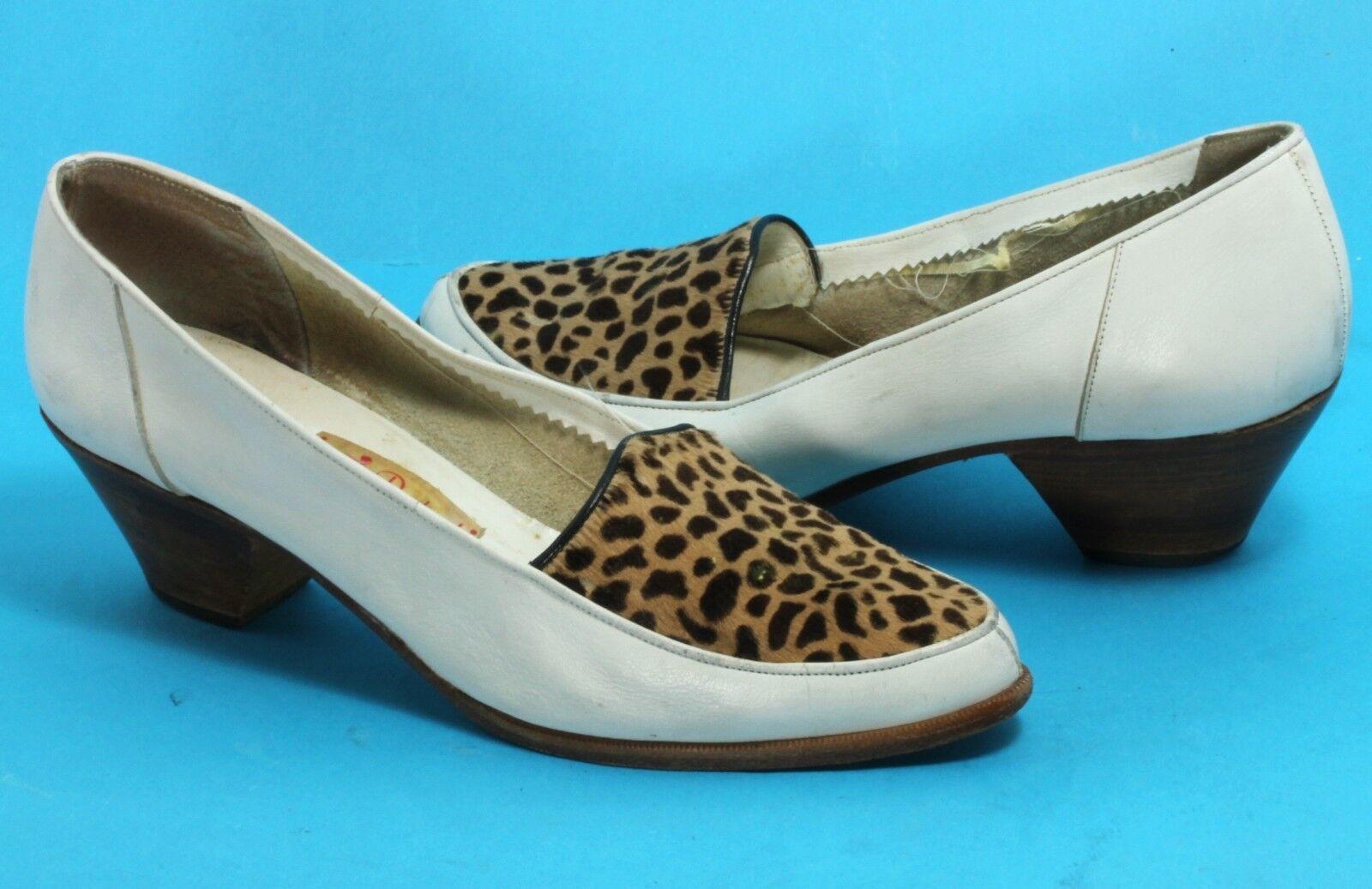 Elegant vintage pumps pumps pumps Zapatos señora rockabilly Boogie Woogie punta di piede 39,5  la mejor oferta de tienda online
