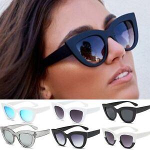 ca4e784e70 Image is loading Vintage-Style-Women-Cat-Eye-Rockabilly-Sunglasses-Ladies-