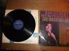 ENGELBERT HUMPERDINCK  GREATEST HITS  12'' VINYL LP  SKL 5198