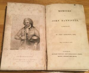 1838-Memoirs-Of-John-Bannister-Comedian