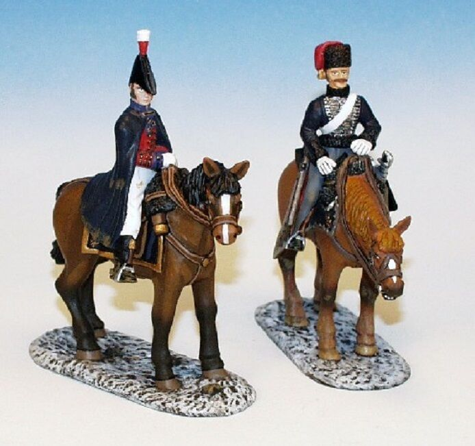 Frontline Figures  95RB.7 British Retreat to Corunna Set(2 Mounted Soldiers)