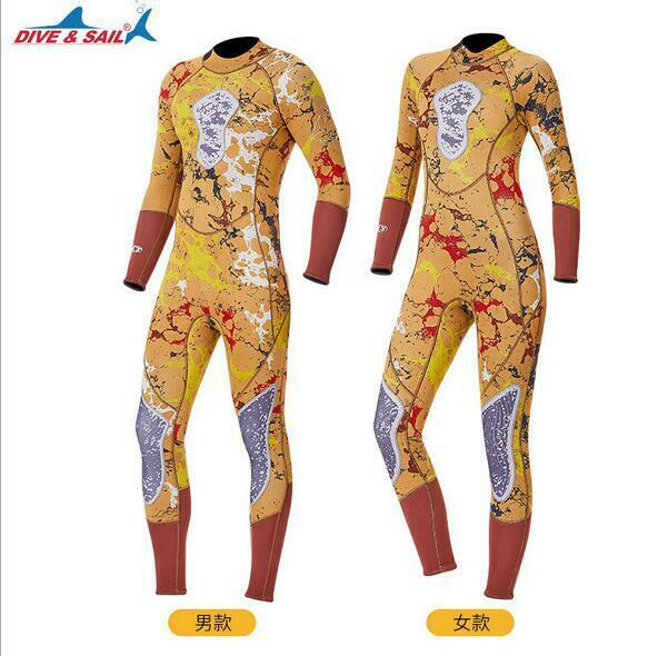 Camo  Spearfishing 3mm Diving Full Body Wetsuit Wet Suit Surfing Swim Jumpsuit  factory direct sales