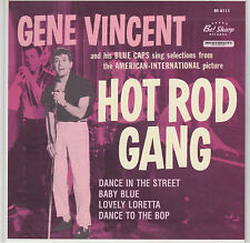 GENE VINCENT - Hot Rod Gang - Limited Edition Reissue BE! SHARP - CLEAR WAX