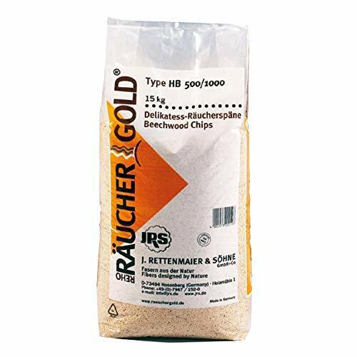 Räuchergold HB 500-1000 Rettenmaier Sciure de fumage fine en bois de hêtre 0,5-1