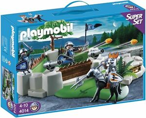 PLAYMOBIL-4014-SUPERSET-CABALLEROS-MEDIEVALES-KNIGHTS
