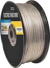 ACORN EFW1714 17 GAUGE 1/4 MILE LENGTH GALVANIZED ELECTRIC FENCE WIRE 8156283
