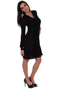 new-RRP-180-COUNTRY-ROAD-WOOL-BLEND-DRESS-BLACK