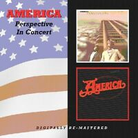 America - Perspective / In Concert [new Cd] Uk - Import on Sale