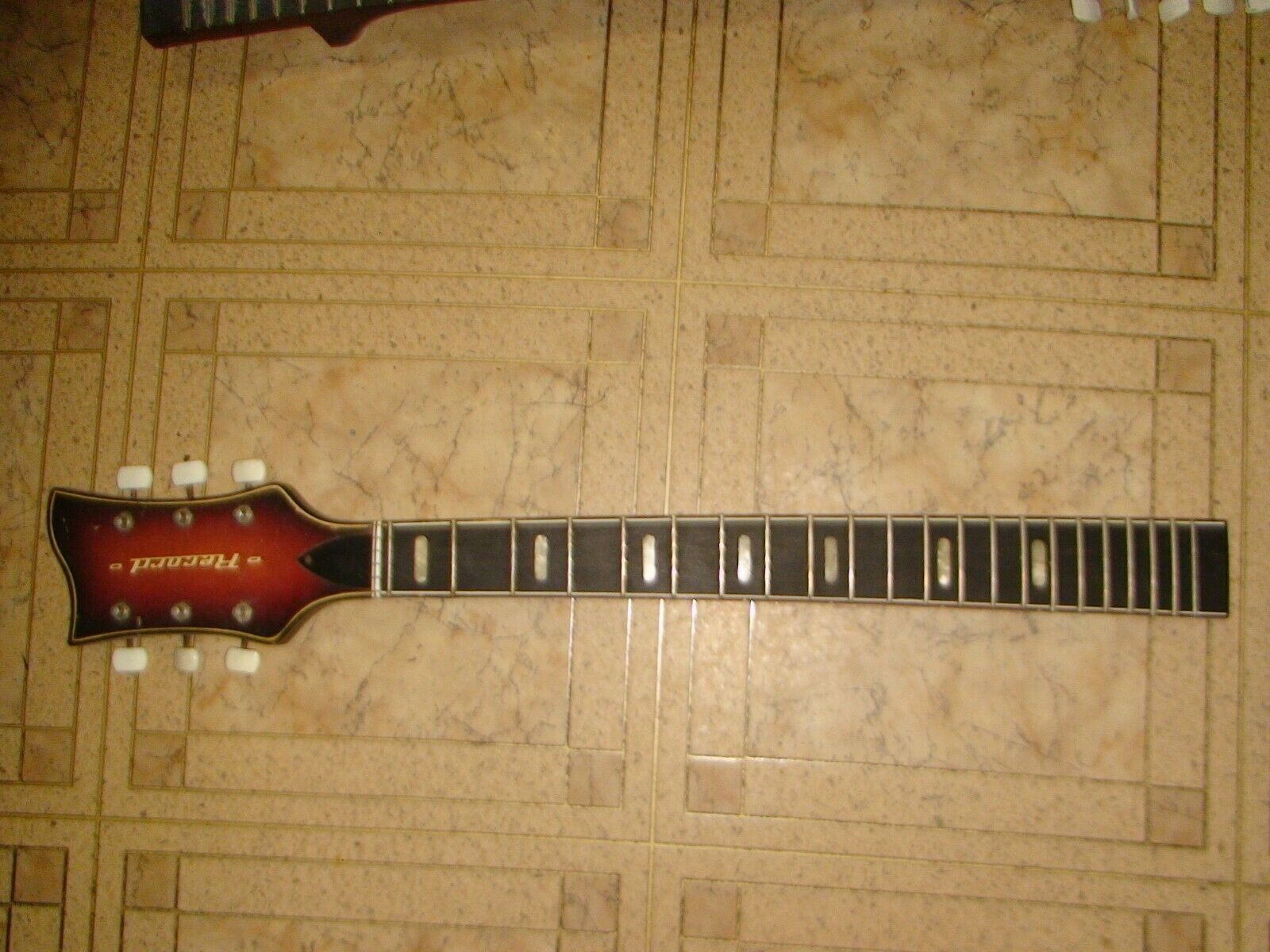 NECK FOR MUSIMA RECORD ELECTRIC GUITAR VINTAGE