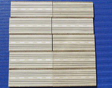 Faller AMS 4120--  10 x Gerade 20 cm, brauner Rand,  kostenloser Inlandsversand
