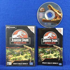 pc JURASSIC PARK Operation Genesis BLACK LABEL Build World ...