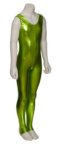 All Colours Metallic Halloween Fancy Dress Sleeveless Catsuit KDC011 By Katz