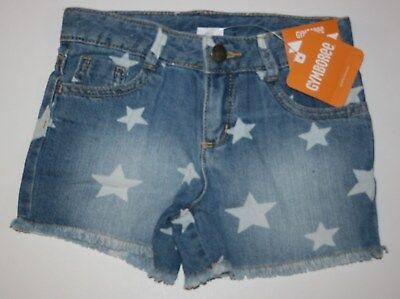 Girls' Clothing (newborn-5t) Nuovo Gymboree Jeans Con Stella 4th Of July Pantaloncini Taglia 3t 4t 5t Ragazze Pure Whiteness