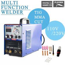 New 110v220v 520tsc Plasma Cutter Tigmma Welder 3in1 Welding Machine
