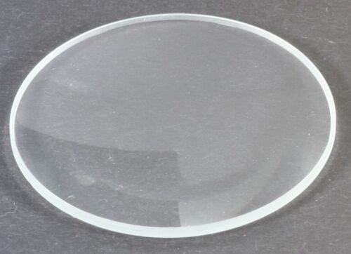 Uhrenglas 1 mm 38,5 mm plan flach Uhrenersatzglas  SGL204