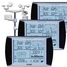 Triple Touch WH1080SE  Profi Funk Wetterstation Solar 3 Displays Touchscreen