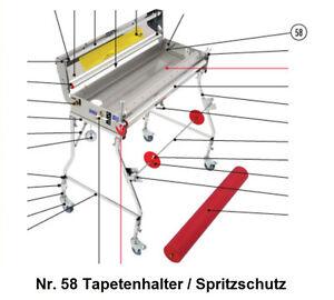 58 Tapetenhalter//Spritzschutz Tapofix Ersatzteil Nr für CB 75 N 800 N