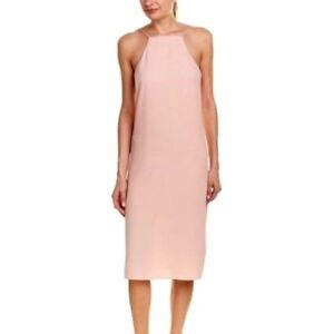 a0a11a32380 SAM EDELMAN Womens Dress Size 12 Blush Pink Spaghetti Strap Popover ...