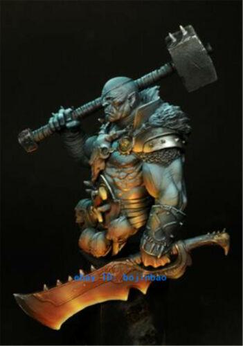 1//10 Scale Fantasy Warrior With Hammer Model Unpainted Unassembled Garage Kit