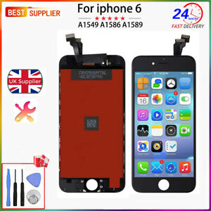 best sneakers 9a9bc 79e59 Details about LCD Screen For iphone 6 Touch Replacement Display Digitizer  Black - Original IC