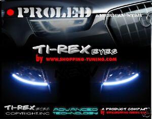 2 BANDES LED TI-REX FEUX DE JOUR DIURNE LOOK A5 POUR Nissan Murano Quashquai