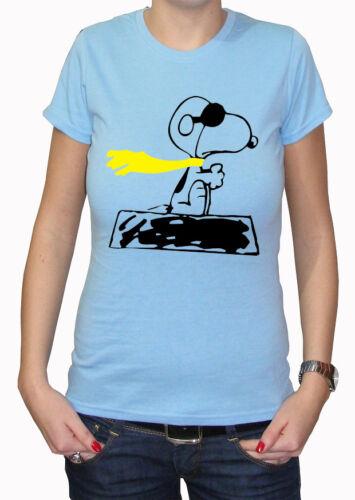 Fm10 T-Shirt Snoopy 2 Peanuts Woodstock Cartoon /& Comic
