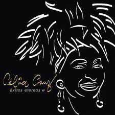mega rare SALSA cd CELIA CRUZ exitos eternos 2 w/ LIVE VERSIONS & VIDEO Sazon