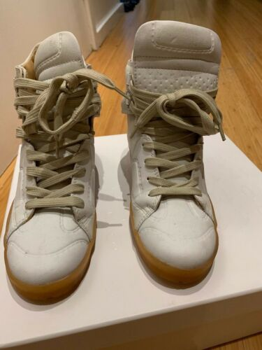 Margiela H & M white sneakers