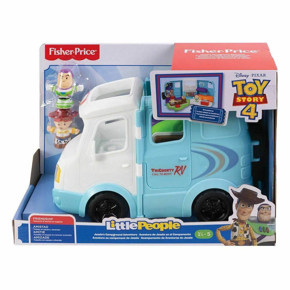Toy Story 4 Little People RV Adventure