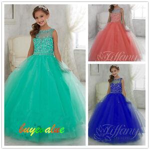 8cc0f7a5da Image is loading Baby-Princess-Bridesmaid-Flower-Girl-Dress-Wedding-Party-