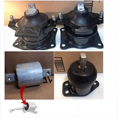3PC ENGINE MOUNT FOR 2005-2012 ACURA RL 3.5L 3.7L AUTOMATIC FAST FREE SHIPPING