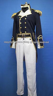 Star Trek Generations 19th Century Navy Uniform Cosplay Costume Custom Made