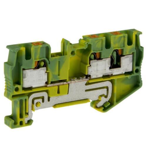 Reihenklemme Durchgangsklemme grün-gelb PHOENIX CONTACT 3211780 PT 4-TWIN-PE