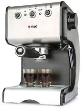 Stainless Steel 1050W 15 Pump Espresso Coffee Maker Machine With Cup Warming
