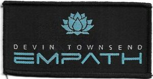 Official-Licensed-Merch-Woven-Sew-on-PATCH-Metal-Rock-DEVIN-TOWNSEND-Empath