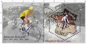 Timbre-Neuf-France-TTB-Centenaire-du-Tour-de-France-2003-N-3583-Jacques-Anquetil