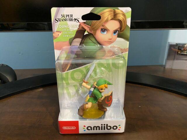 Young Link Amiibo Super Smash Bros Factory Sealed New