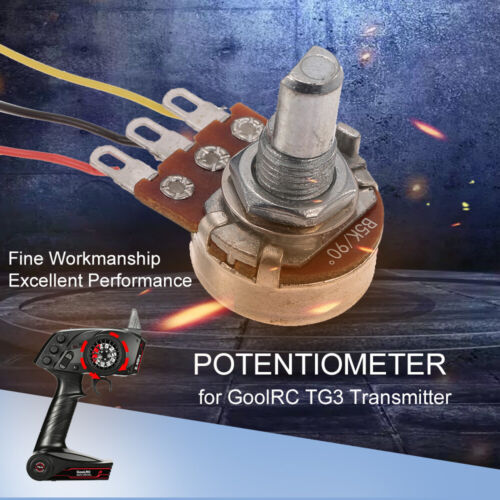 RC Drehpotentiometer für GoolRC TG3 2.4GHz Radio Remote Control Transmitter Y2V5