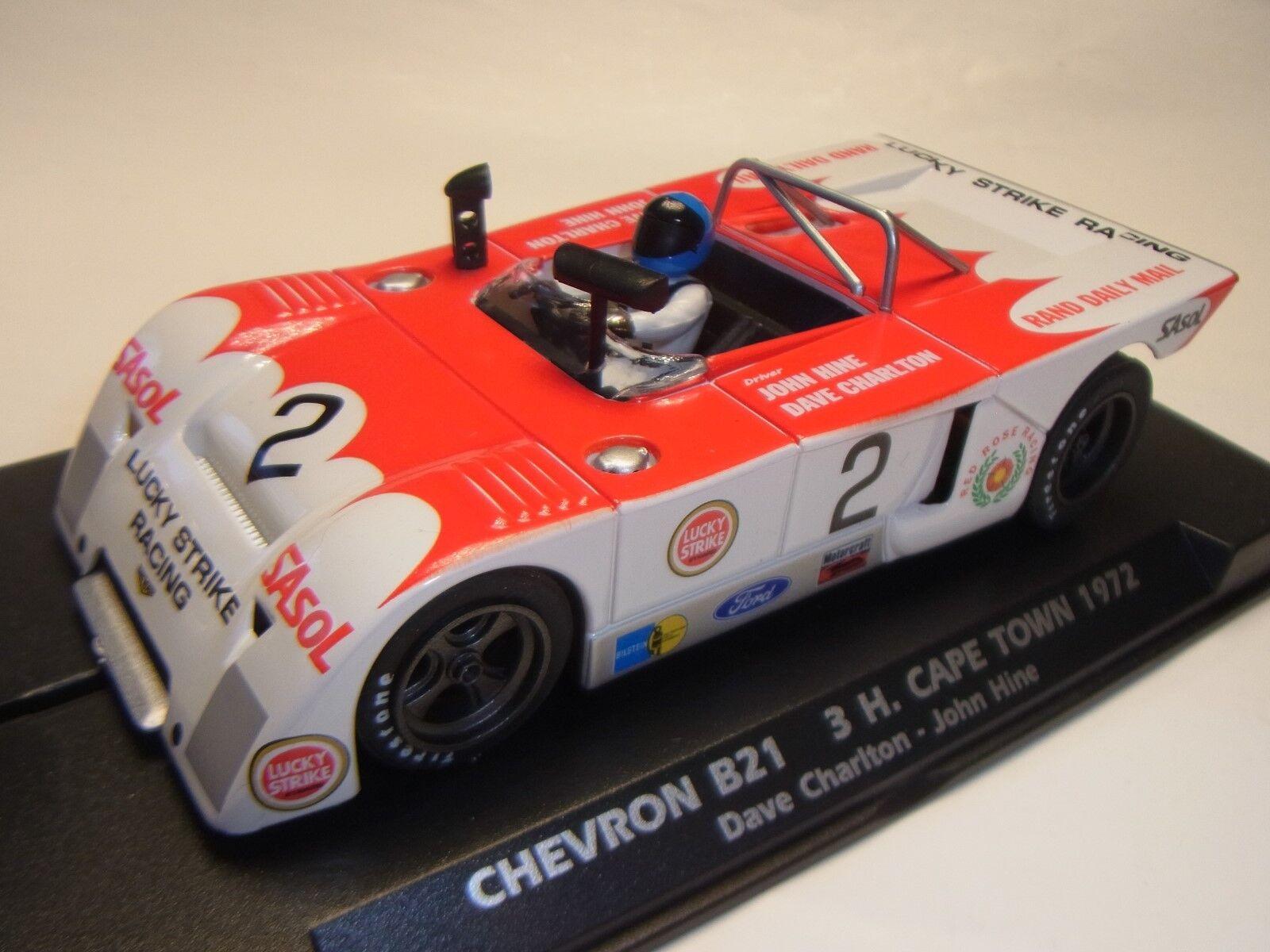 Flyslot Chevron B21 Cape Town 1972 F024102 para Circuito de Slot 1  3 2Slot
