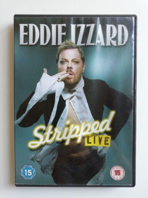 Eddie Izzard - Stripped Live DVD - Used Excellent Condition C6