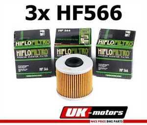3x-HIFLO-FILTRE-A-HUILE-HF566-Kymco-Downtown-300-I