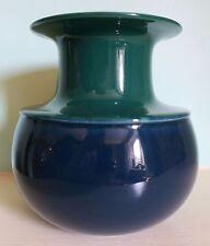 Rosenthal Studio-line green over blue vase by Tapio Wirkkala West German